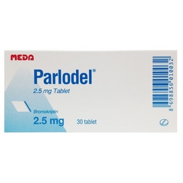 Picture of Bromocriptine (Parlodel)